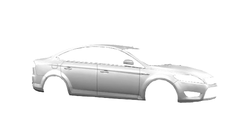Цвета кузова Mondeo Sedan